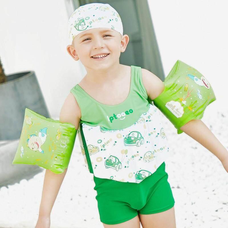5ae0039a0 Children's Swimwear Boys Swimsuit Buoyancy Surfing Floating Swimming  Clothes Bathing Suit Toddler Swim Diaper Vest Rash