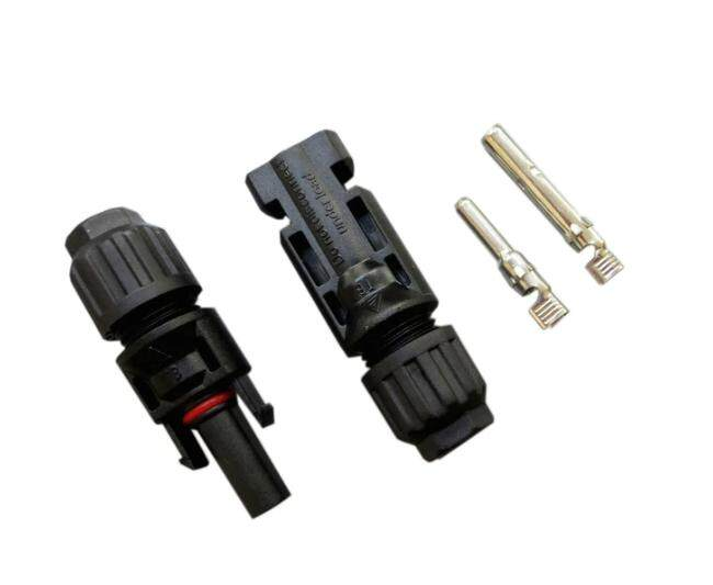High quality MC4 connector - Male & Female - suitable for 4mm2 to 6mm2 cable