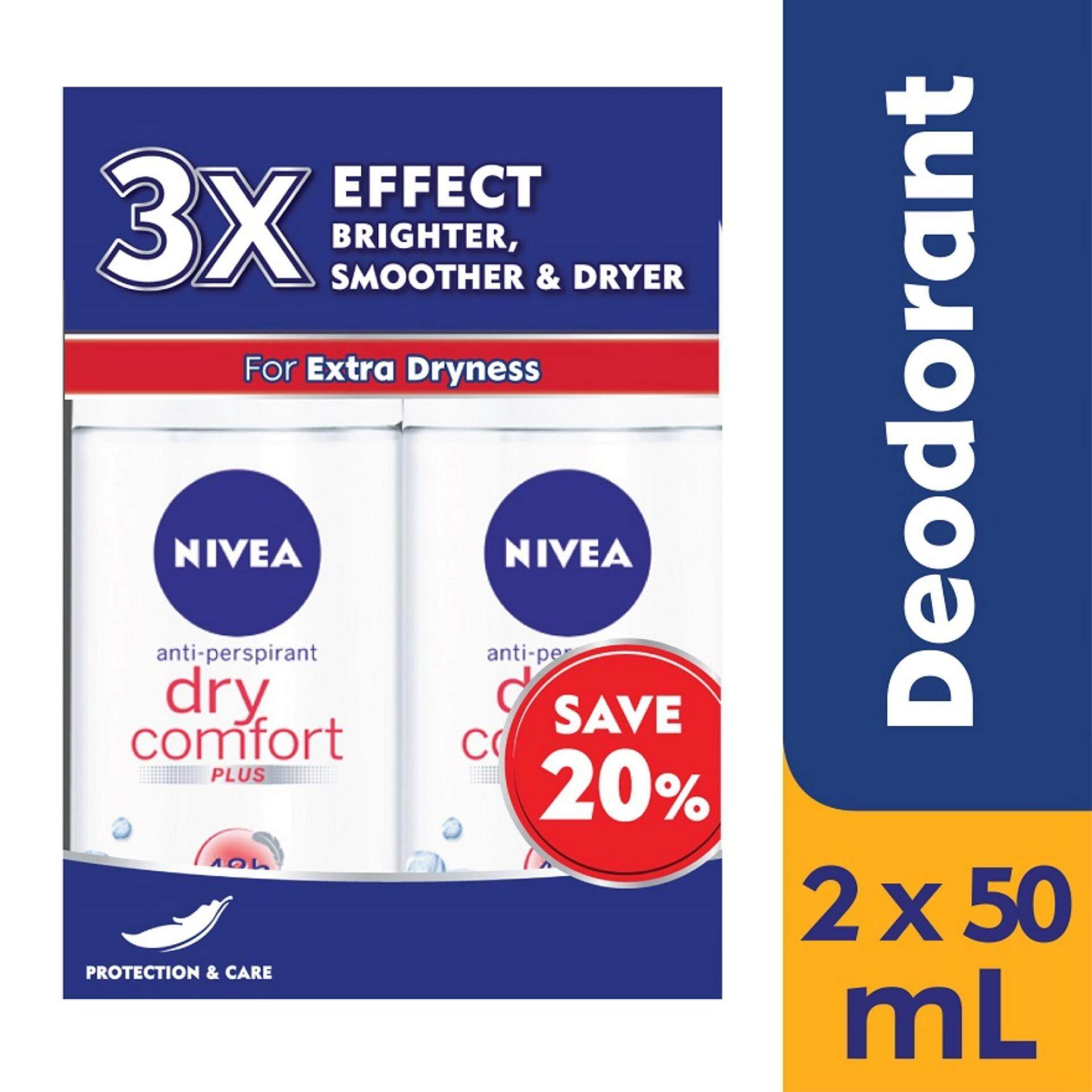 Nivea Personal Care Pleasure Deodorants Price In Malaysia Best Men Deodorant Dry Impact Roll On 50ml Comfort Twin Pack 2x50ml