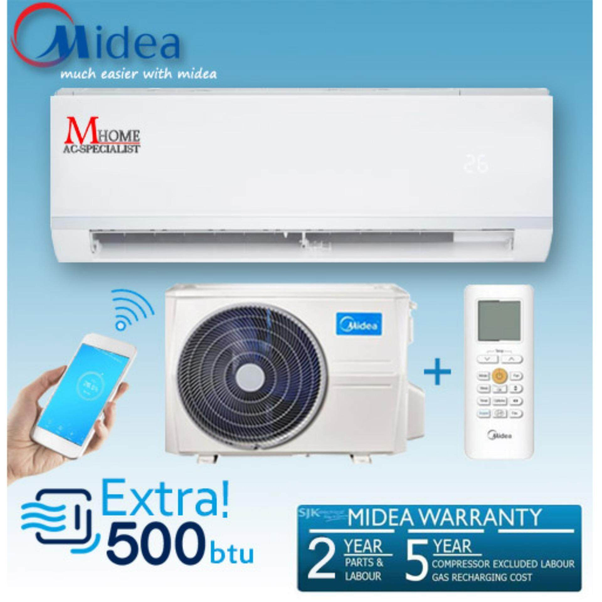 New Midea Msae 10crn1 10hp With Ionizer Air Conditioner 3 Star Electronical Circuit Board Buy