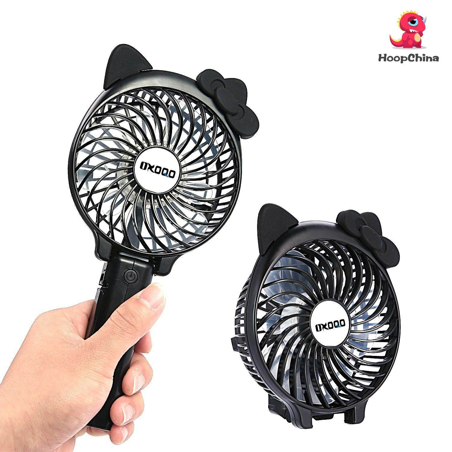 Latest Branded Fans With Best Online Price In Malaysia Mini Portable Fan Powerbank Kipas Angin Hoopchina Folding Personal Handheld Equipped 3 Kinds Of Strong