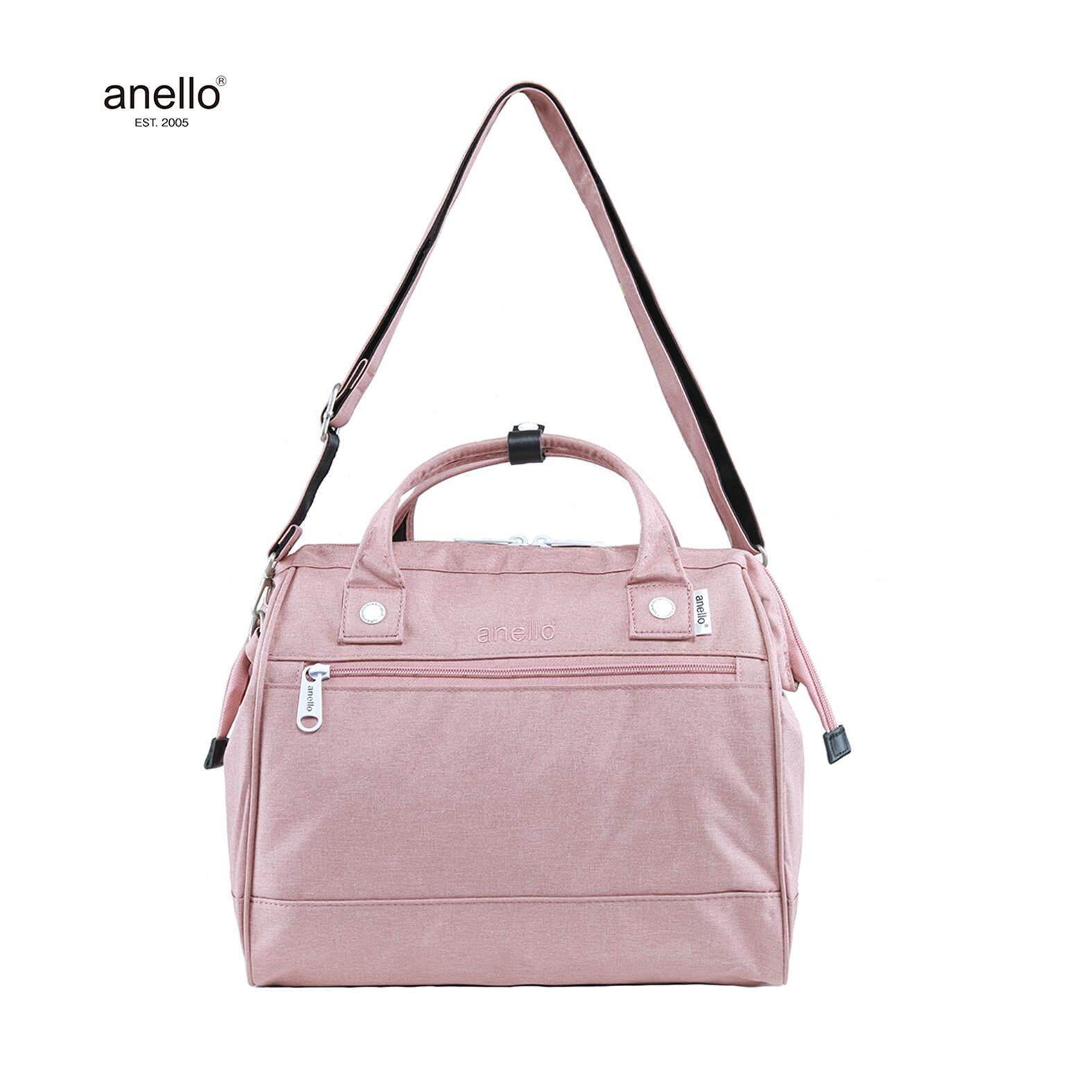 c9a6833679 anello® High Density Polyester 2way Use Signature Design Large Shoulder Bag  (Malaysia Official Dealer