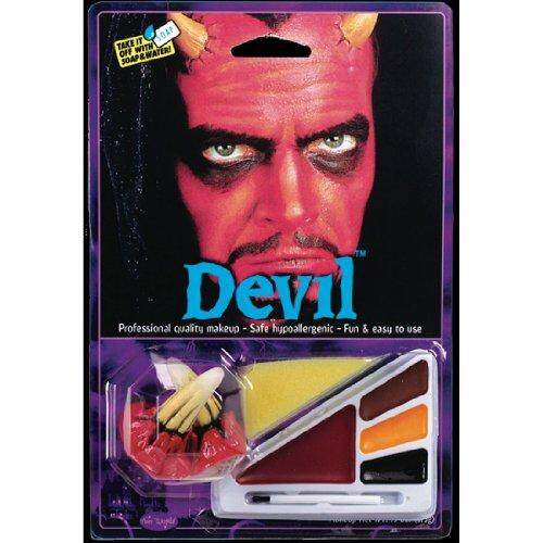 Fun World Devil Face Paint Kit By Cross Border.