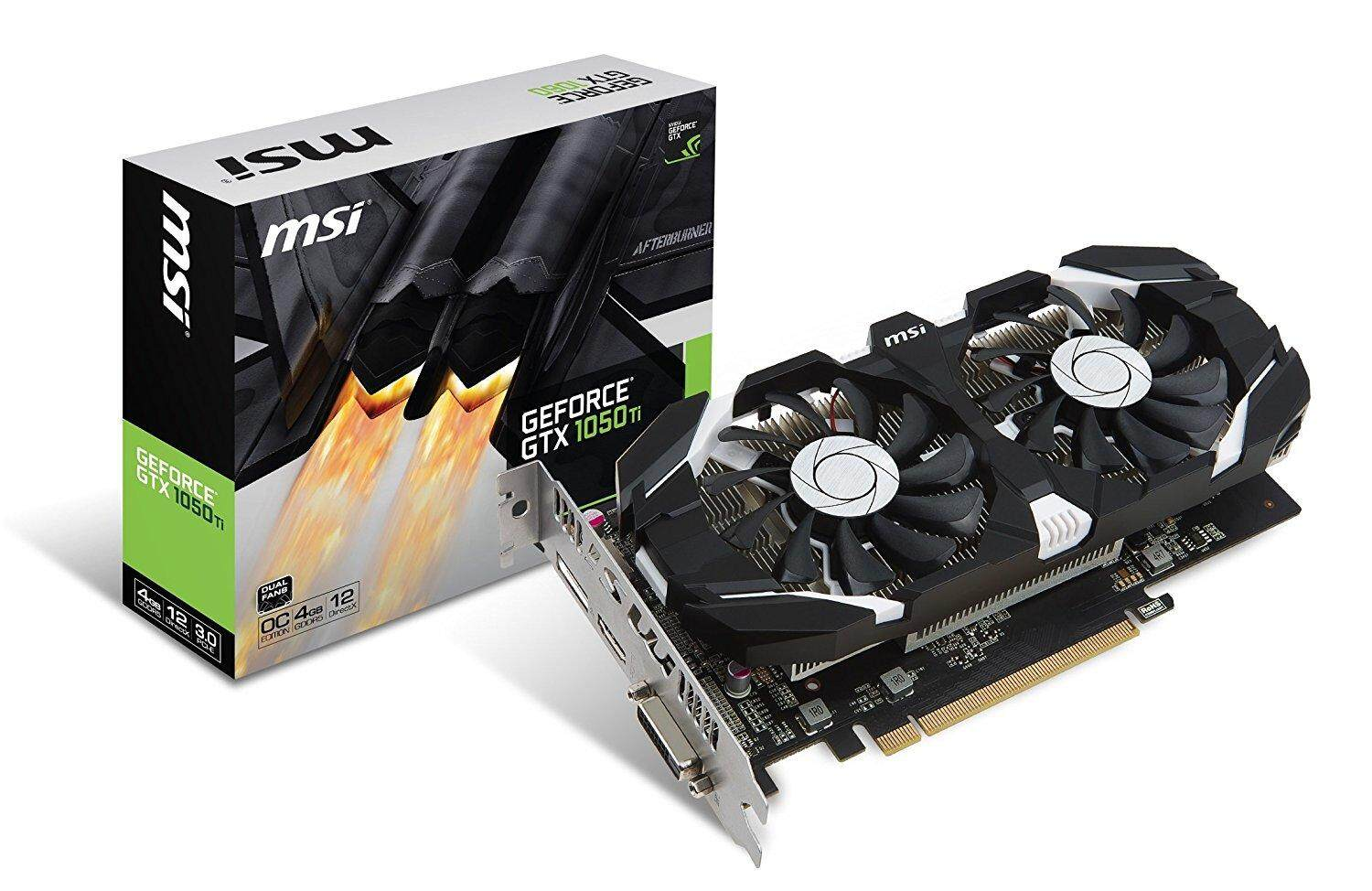 Msi Computer Components Graphic Cards Price In Malaysia Best Geforce Gtx 750 Ti 2gb Twin Frozr Gaming Nvidia Gtx1050ti 4gt Ocv1 Fan Ddr5 Graphics Card