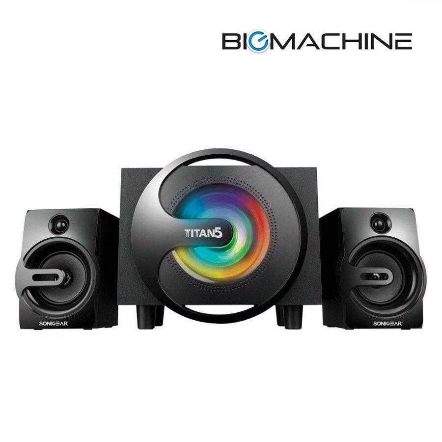 Sonic Gear Titan 5 BTMI Stereo Bluetooth 2.1 Speaker Malaysia