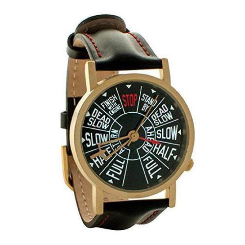 [The Unemployed Philosophers Guild] Steamship Telegraph Unisex Analog Watch [From USA] Malaysia