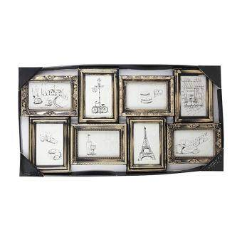 Bandingkan Azzure Home Parisian 8 Openings Decorative Wall Hanging