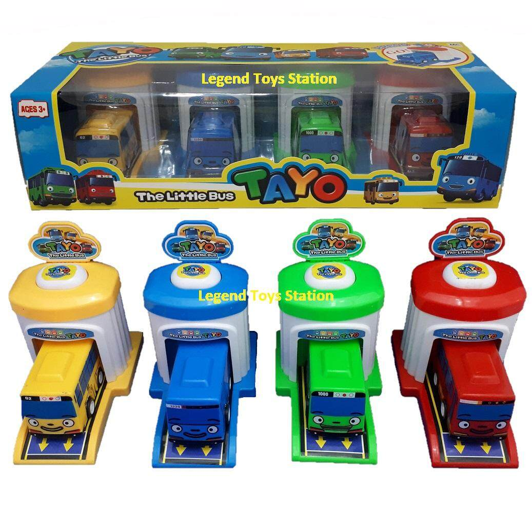 Play Vehicles Buy At Best Price In Malaysia Www Mainan Robocar Poli 1 Set Legend Toys Station The Little Bus Tayo Ejection Toy 4pcs
