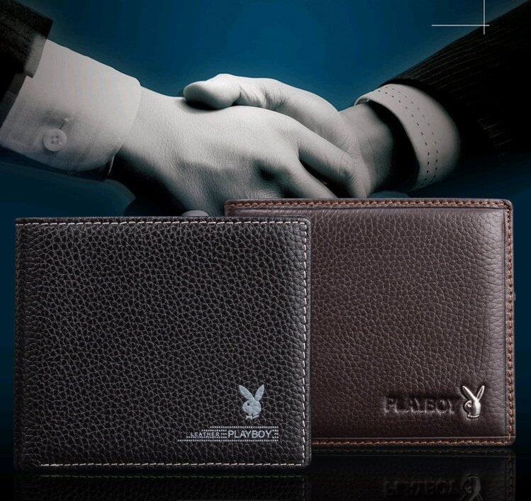 7aca2c7ace8219 Specifications of Playboy Men Leather Wallet High Quality Playboy Geniune Men  Wallet Free Gift Box (Brown)