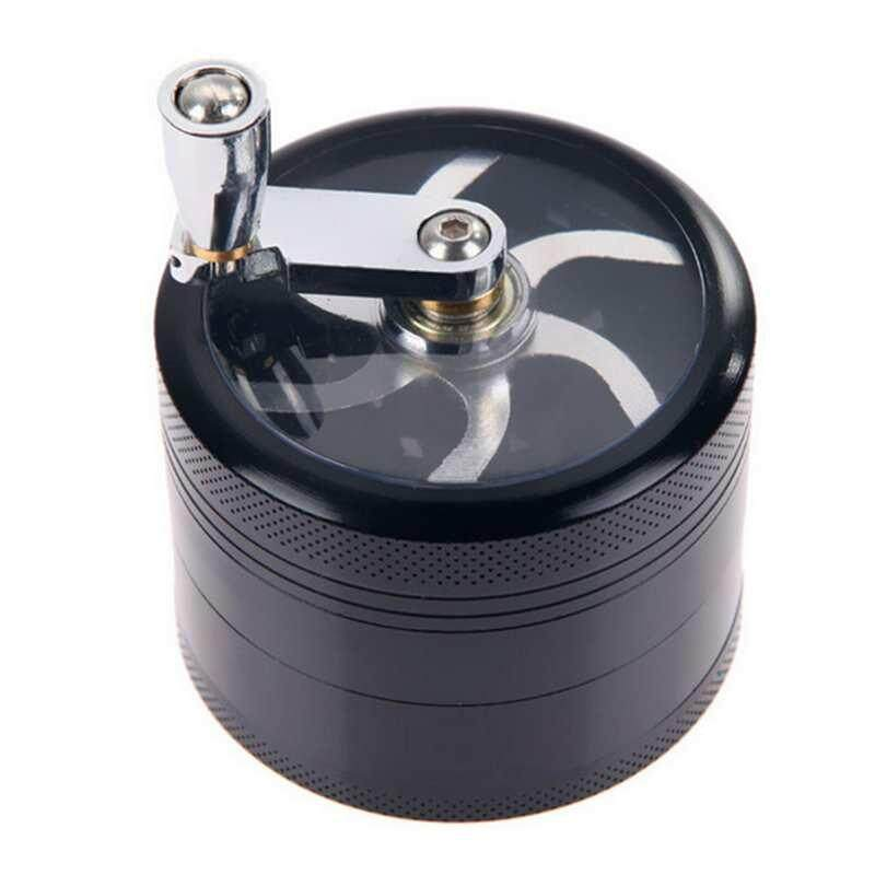 Hot Sale Stainless Steel 4 Layers Mill Smoking Accessories Tobacco Grinder