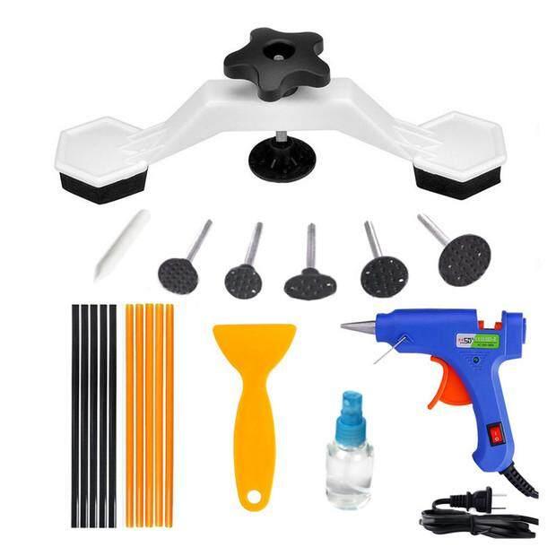 Dsstyles Pops Dent Bridge Dent Puller Kit With Hot Melt Glue Tool Sticks For Car Body Dent Repair 19pcs/ Set By Dsstyles.