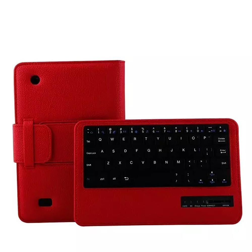 Bluetooth Keyboard Tablet Leather Case Cover For Kindle Fire HD 7 2015 7Inch RD Malaysia