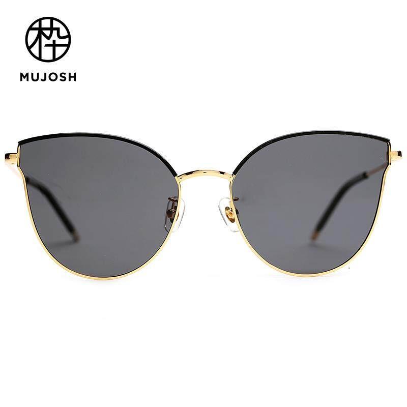 cd6ffb2f968 MUJOSH Women Acetate TAC Polarized Lens Cat-Eye Vintage Sunglasses  SM1820167C01