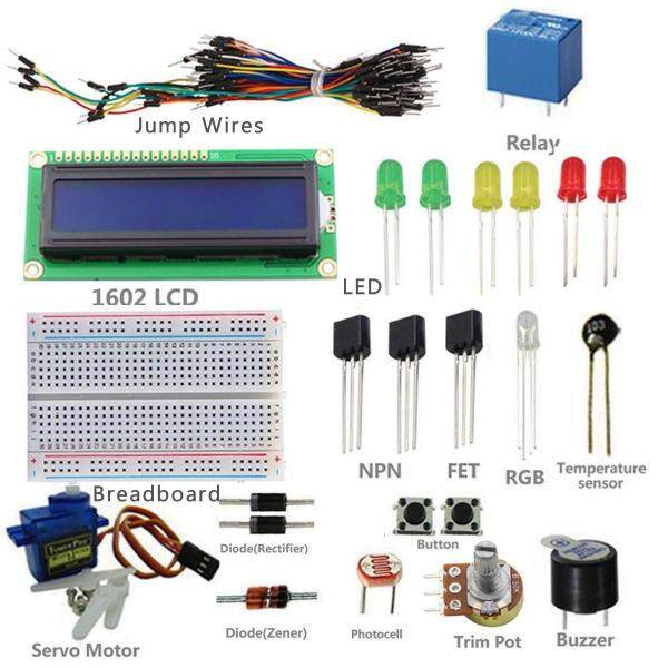 Project 1602 LCD Starter Kit For Arduino UNO R3 Mega 2560 Nano Servo With PDF -