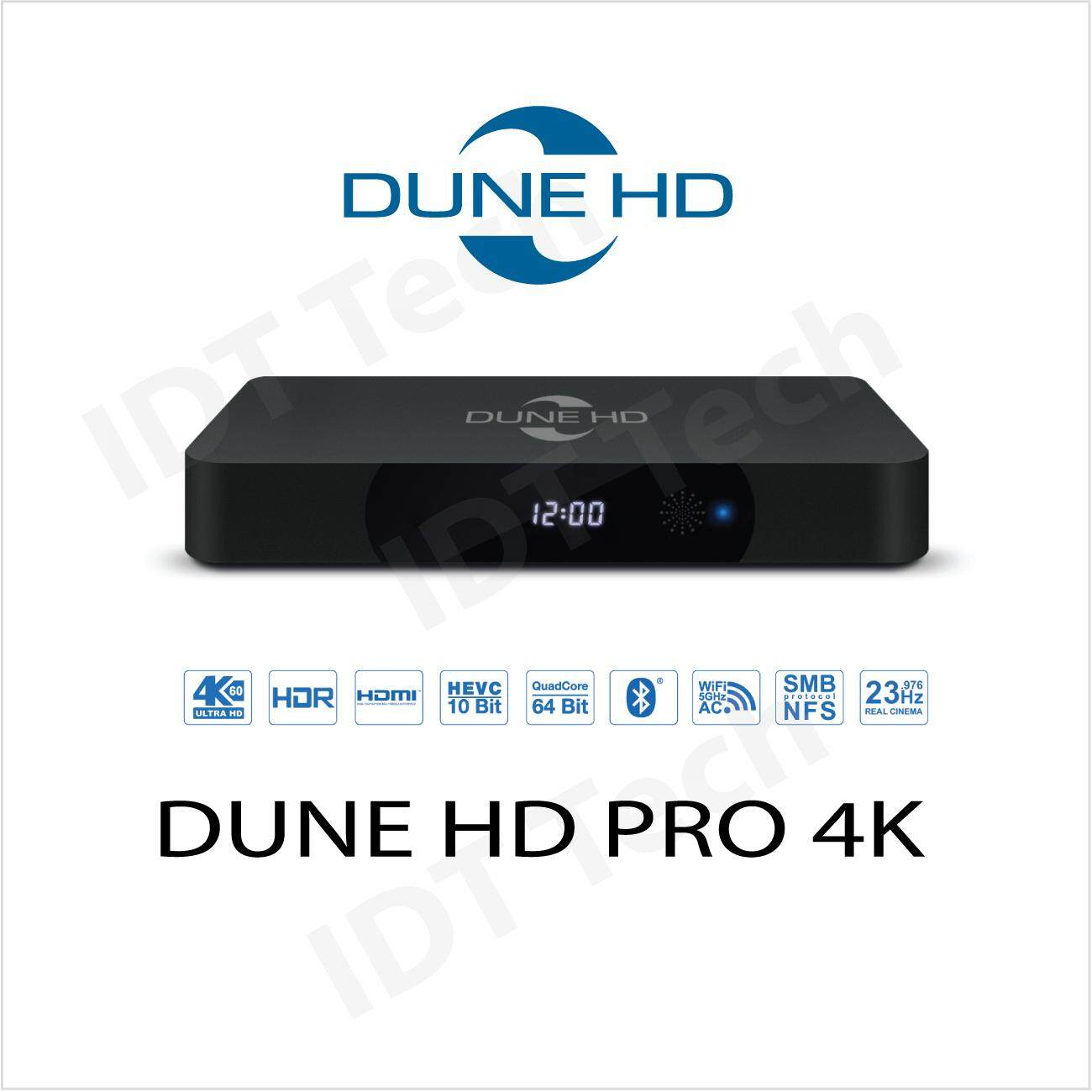 Dune Hd Pro 4k Media Player By Idt Tech.