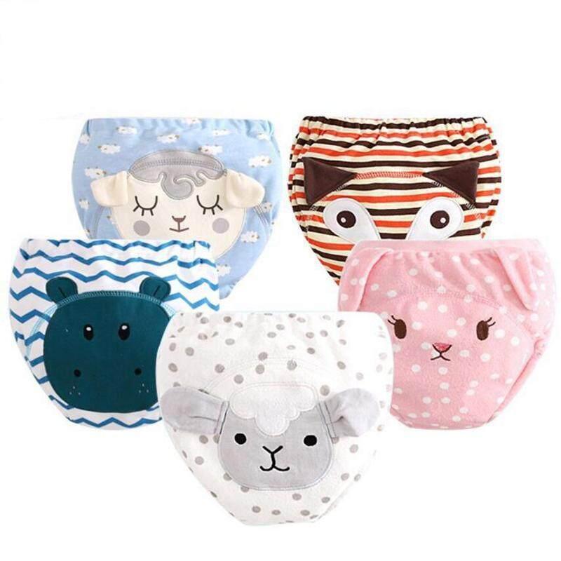 5pcs Waterproof 3d Cartoon Embroidery Reusable Baby Boys Potty Training Pants Newborn Toddler Underwear Panties By Jinyun Company.