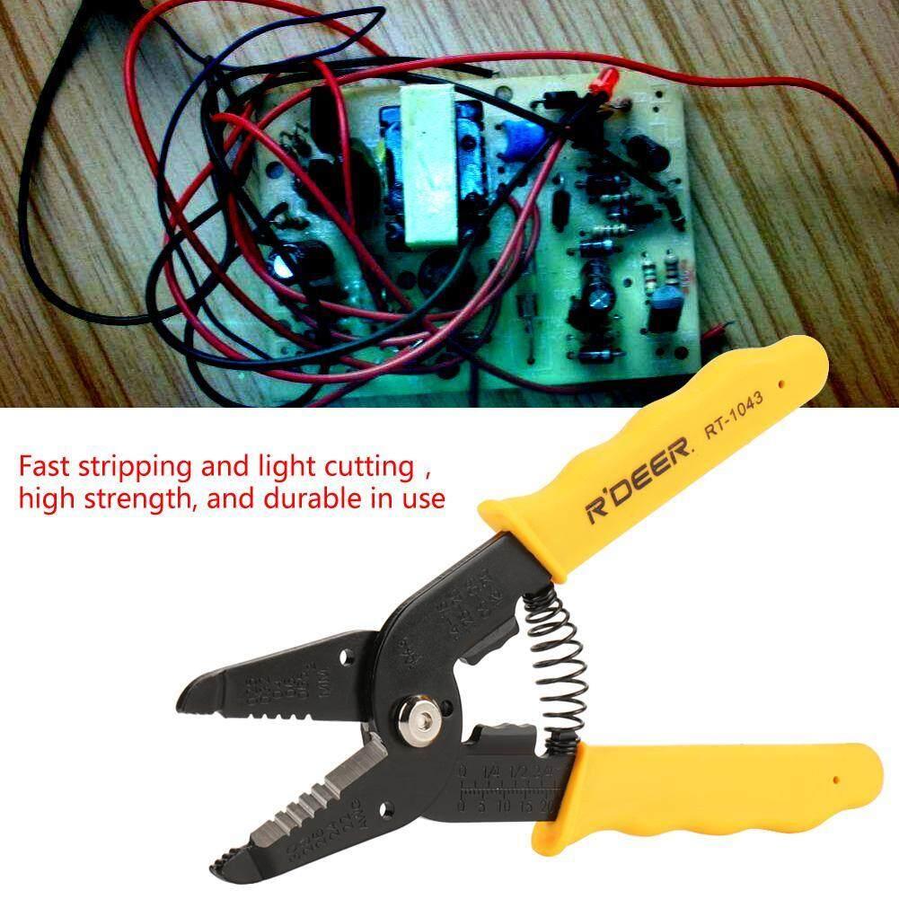 Multi-purpose Cable Wire Crimper Crimping Tool Stripper Plier Cutter Hand Tool