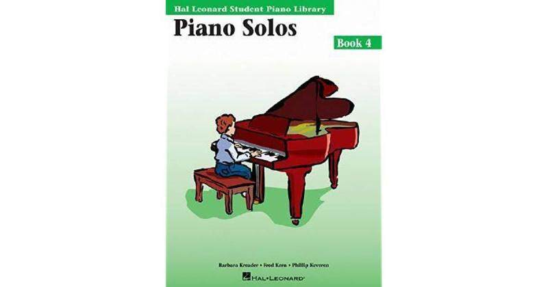 Hal Leonard Student Piano Library Piano Solos Book 4 CD Included Malaysia