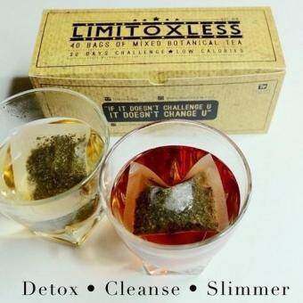 Limitoxless Detox tea, slim and burning fat