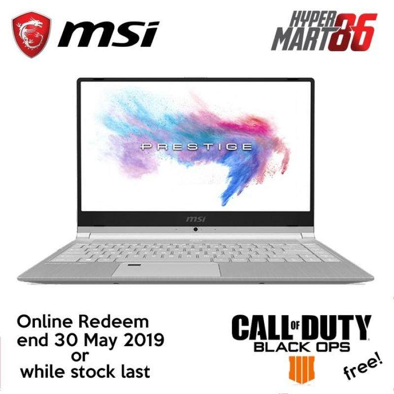 [LIMITED OFFER]MSI PS42 8RB-431 Notebook (14inch/Intel I7/16GB/256GB SSD/MX150 2GB) Malaysia