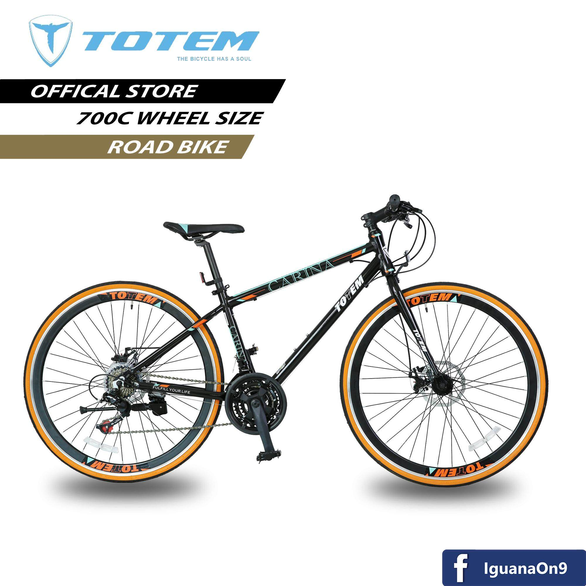 7999b76e2f7 TOTEM T15B CARINA 700C Alloy Road Bike (Black) with SHIMANO Equipped -  Model Special