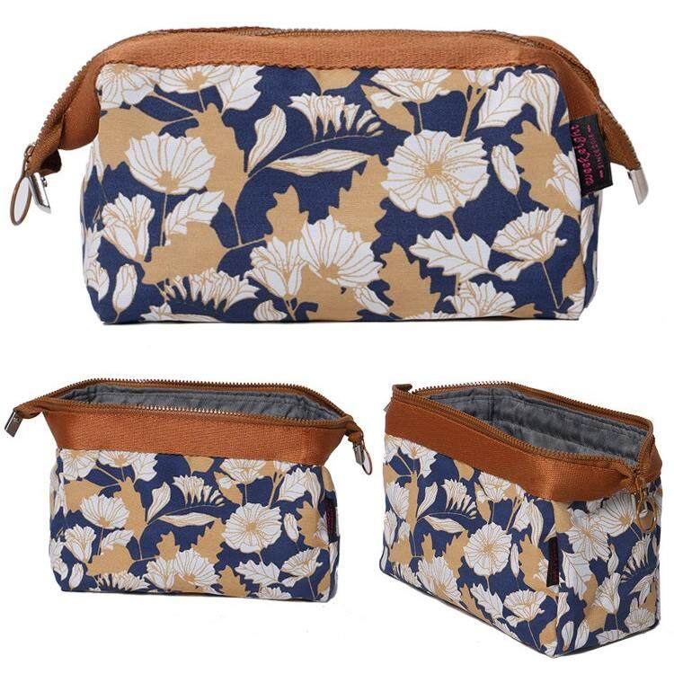 Woman Travel Cosmetic Bag Flamingo Korean Style Cube Pouch Beg Lb3 By Bagshop8.