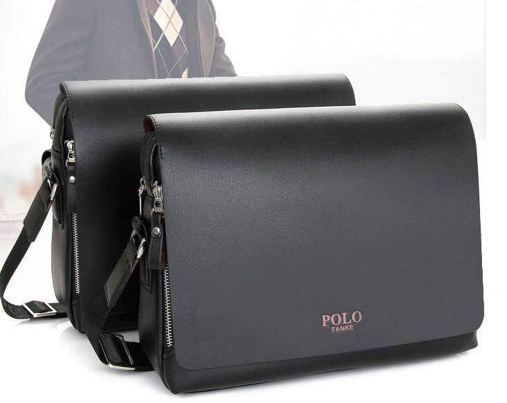 Polo Fanke Bag Men Genuine Leather Bag PU Shoulder Bag Messenger Bags  Handbag Composite Leather Casual 221091b3620fd