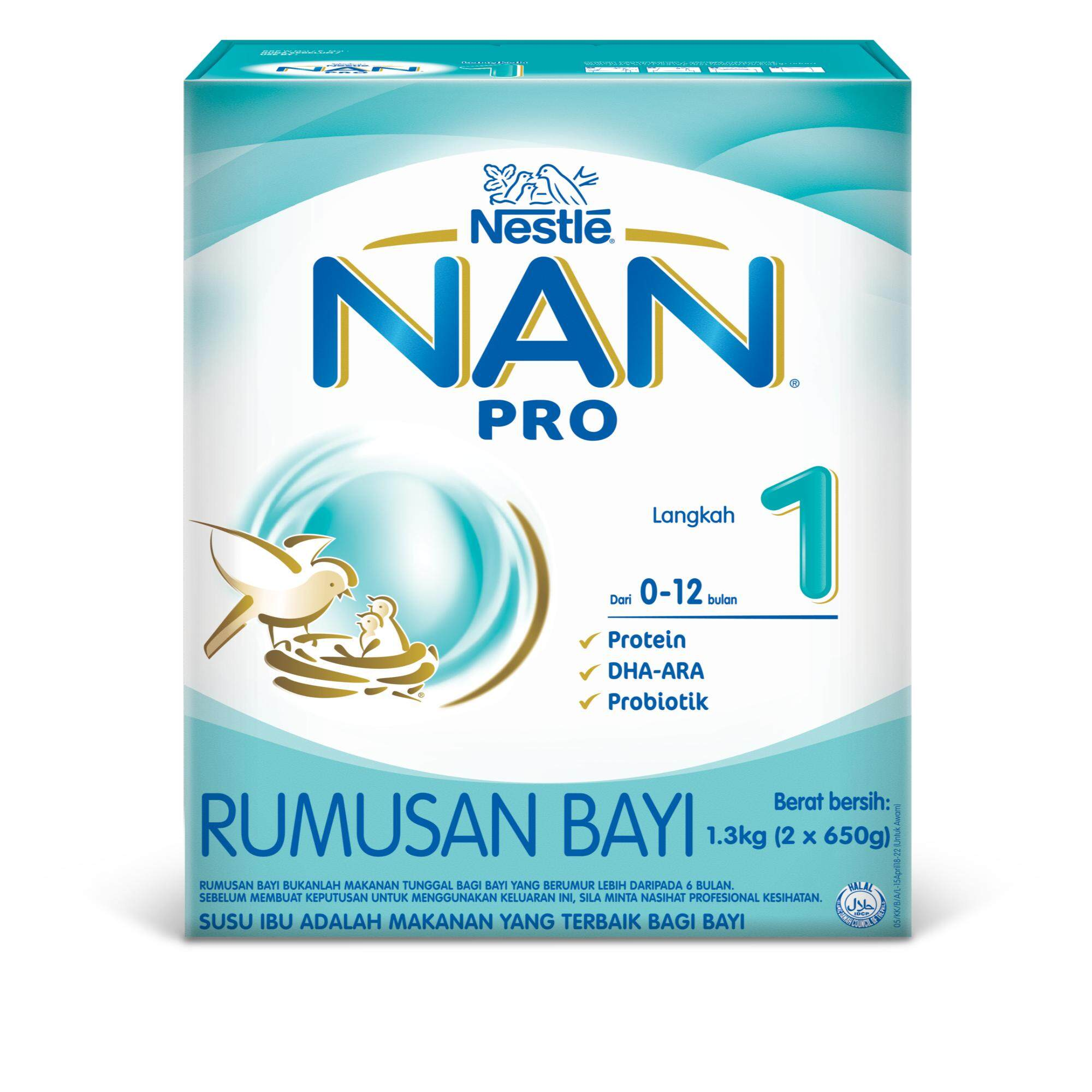 Infant 0 6 Mnths Buy At Best Price In Frisolac Gold 1 400gr Nan Pro 2x650g