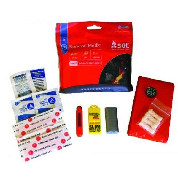 S.O.Lurvive Outdoors Longer Survival Medic Kit