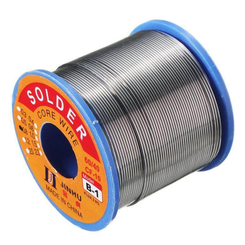 JINHU 500g 60/40 Tin lead Solder Wire Rosin Core Soldering 2% Flux, 0.7Mm 1 Reel