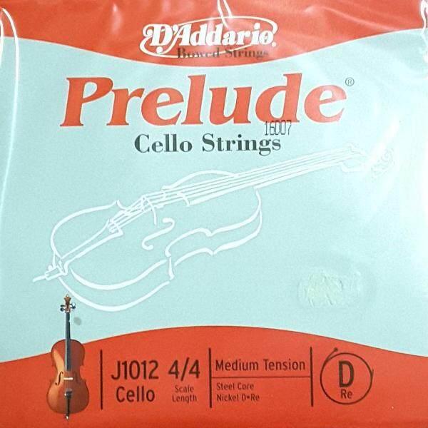 DAddario Prelude Cello String No.2d J1012 (GENUINE) Malaysia