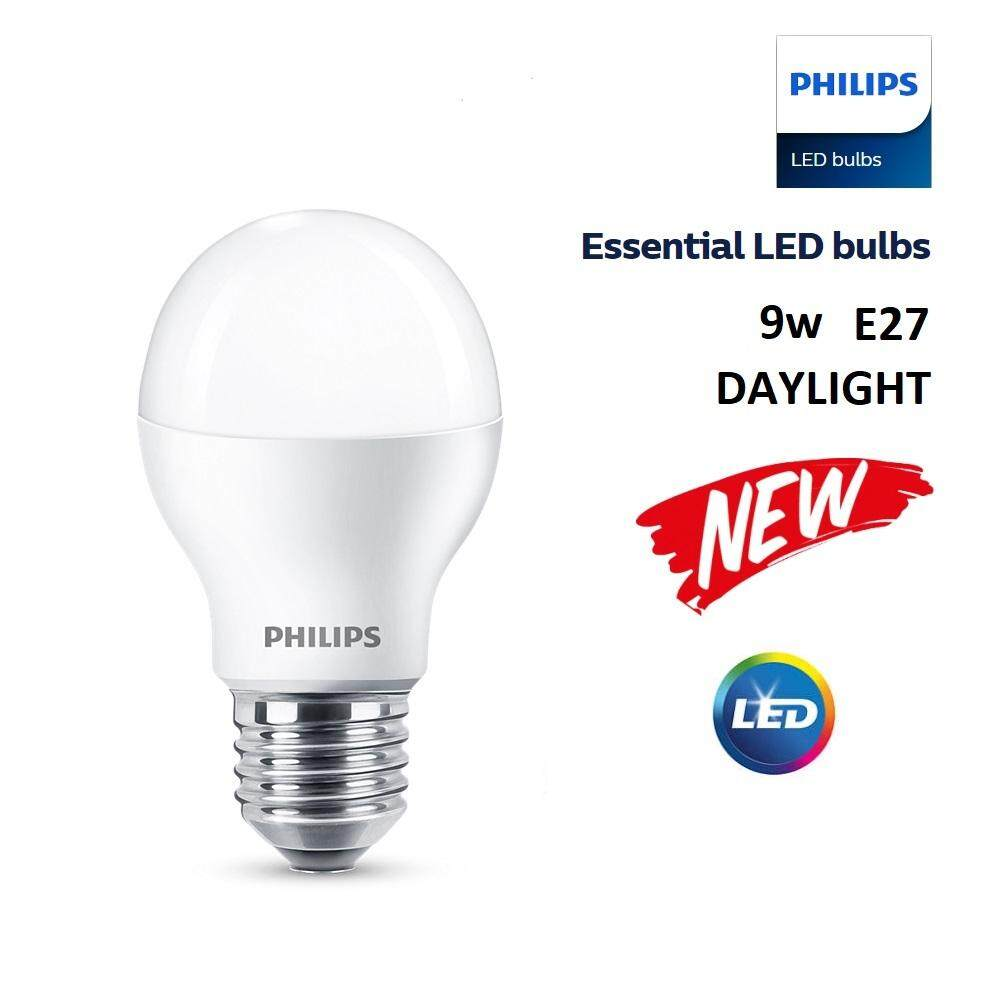Philips Home Light Bulbs Price In Malaysia Best Lampu Led 8w 3pcs X Essential Bulb 9w E27 Cooldaylight 6500k
