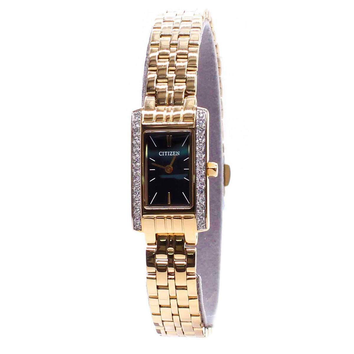 Citizen Citizen Quartz Gold Stainless-Steel Case Stainless-Steel Bracelet Ladies EZ6352-58E Malaysia