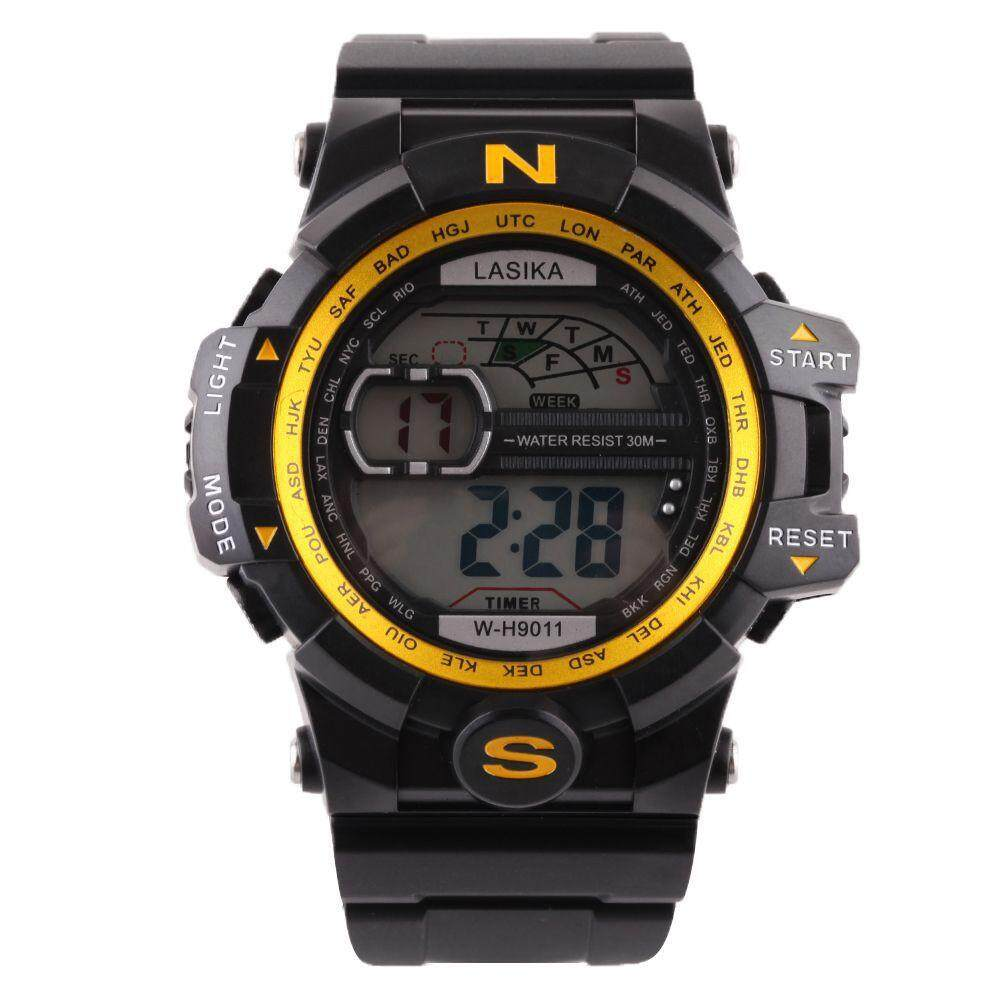 SPACICKIE Men Quartz Digital Sports Watches Military Silicone Waterproof Wristwatche BU Malaysia