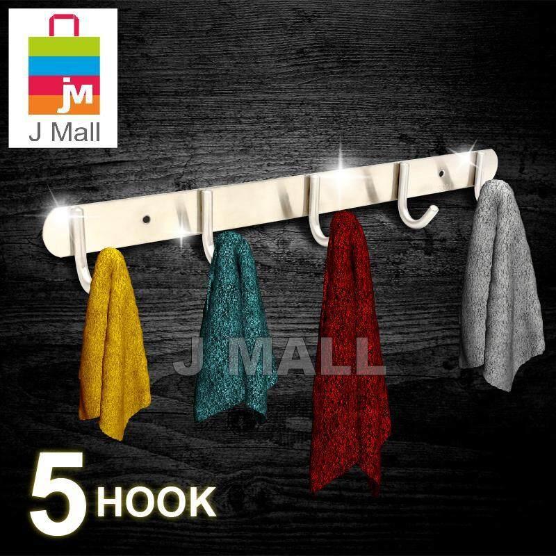 MCPRO CLOTHES HANGER HOOK STAINLESS STEEL SUS304 4 HOOK/ 5 HOOK/ 6 HOOK