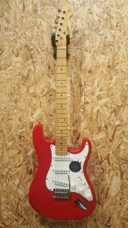 FENDER Bullet Stratocaster Gross Red Electric Guitar + Free Gift Malaysia