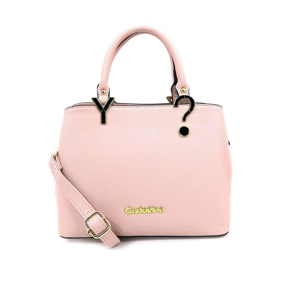 Carlo Rino 0304238a 001 34 Top Handle Bag Soft Pink