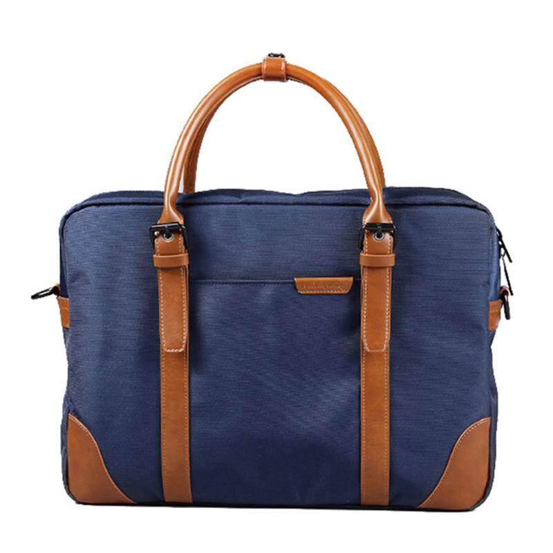 899a7c32b6743 Men s Messenger Bags Waterproof Portable Laptop Briefcase Bag Travel  Shoulder Vintage Handbag