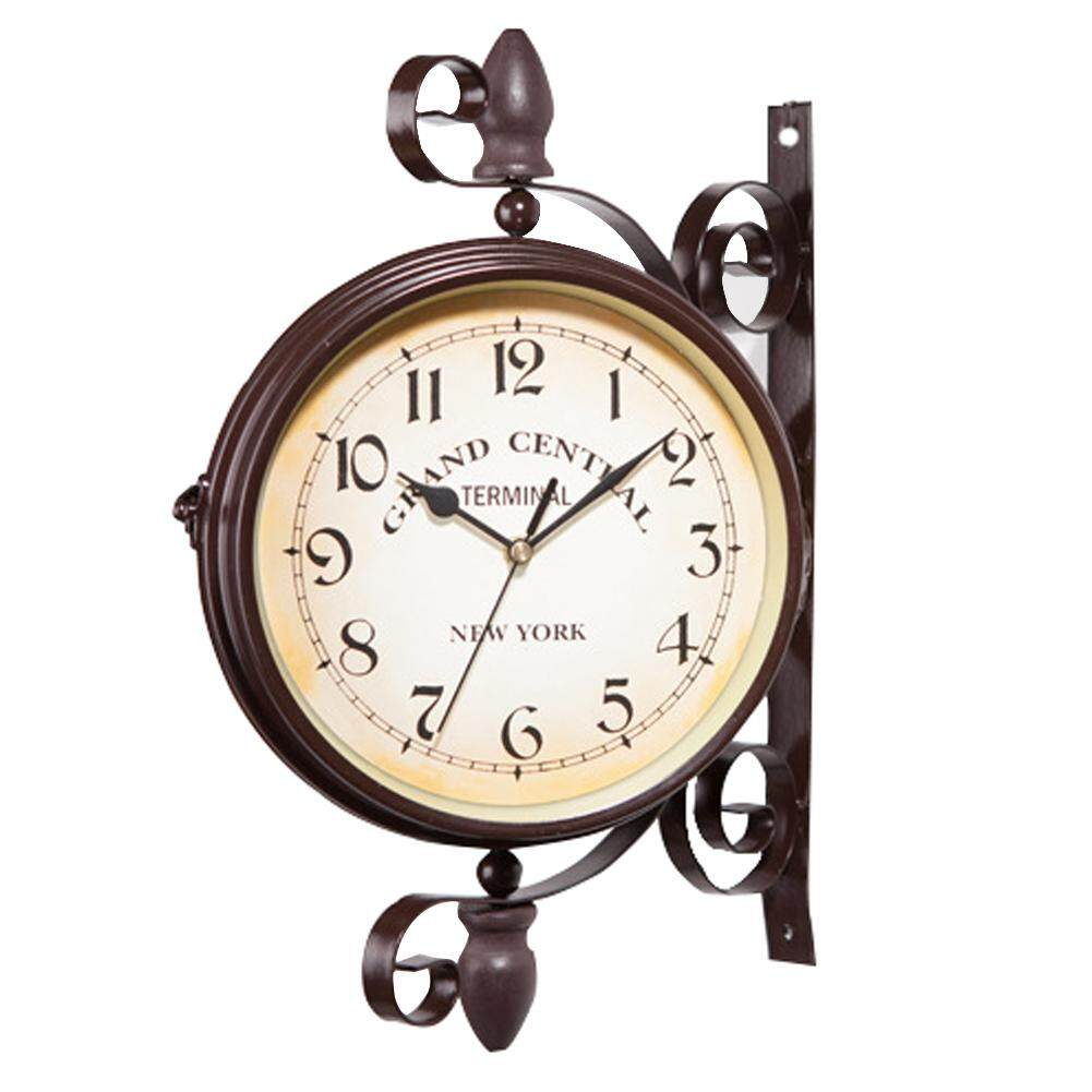 Home Clocks Buy At Best Price In Malaysia Lazada Vintage Apple Computer Circuit Board Craziest Gadgets European Style Clock Innovative Fashionable Double Sided Wall