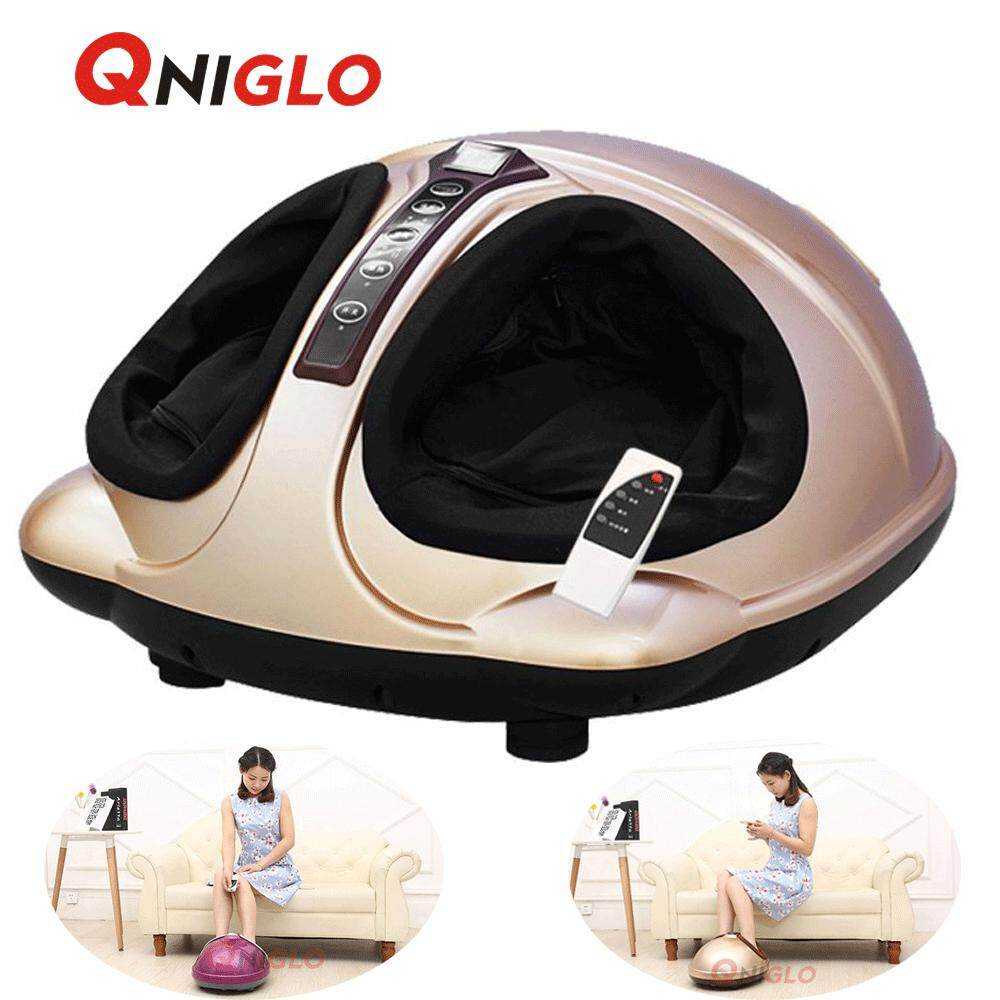 Qniglo Foot Massager 4d Kneading Air Pressure Electric Massagers With Remote Control(gold) By Qniglo Sdn Bhd.