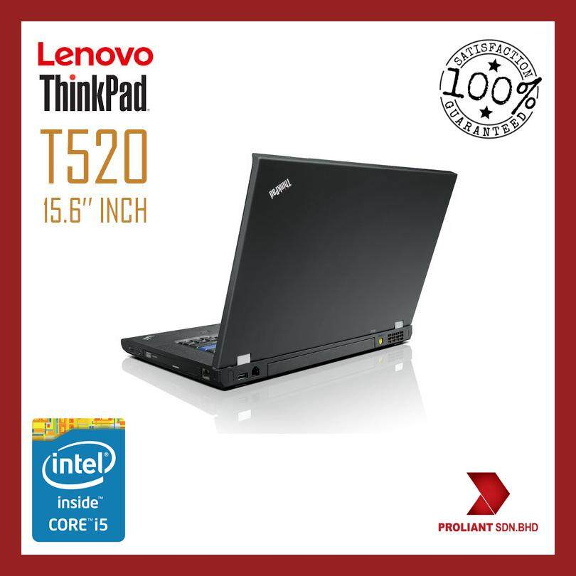 LENOVO THINKPAD T520 [CORE I5] 15.6 INCH with BOXPACKING [GRADE A REFURBISHED] Malaysia