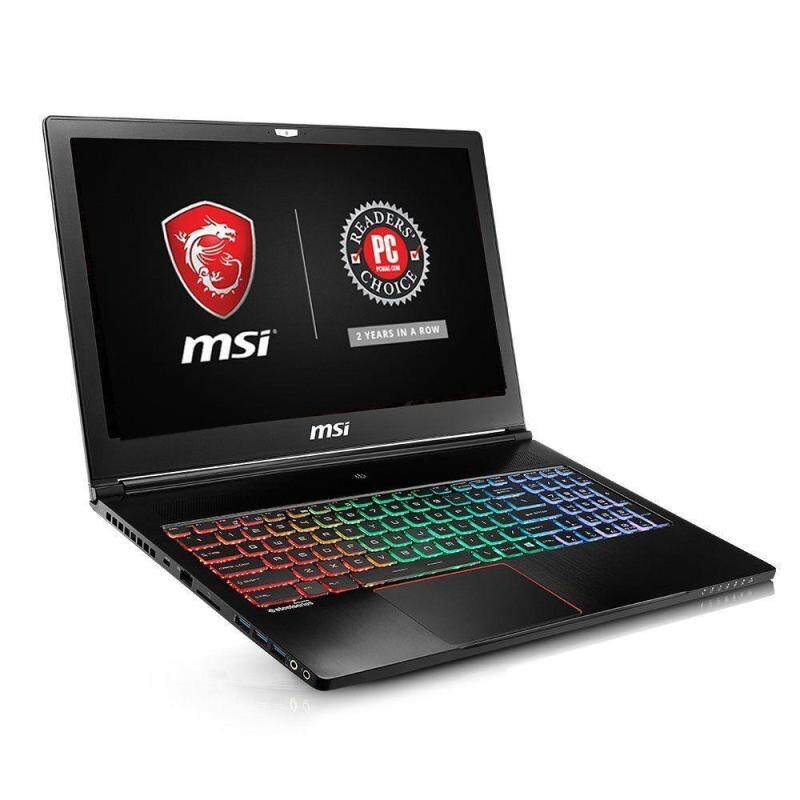 """MSI GS63VR Stealth Pro-422 15.6"""" Ultra Thin and Light Gaming Laptop i7-6700HQ NV Malaysia"""
