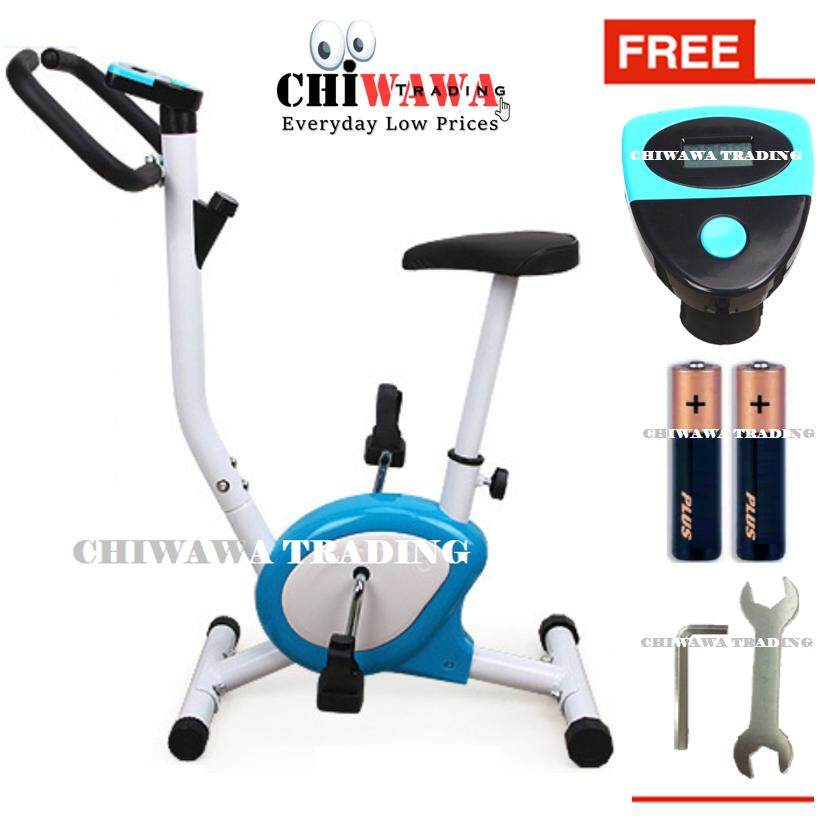 【FREE: Installation Tool SET + Battery】Professional Sport Lightweight  Exercise Bicycle Fitness Spin Bike for Indoor Cycle Trainer and Sport Gym