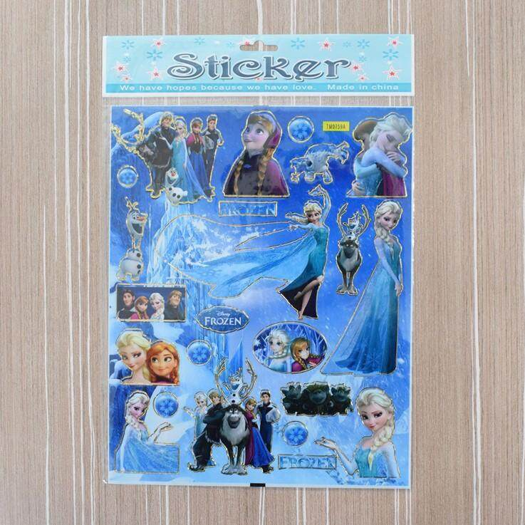 Frozen Stickers For Kids 10pcs/set By Ac Shopper.