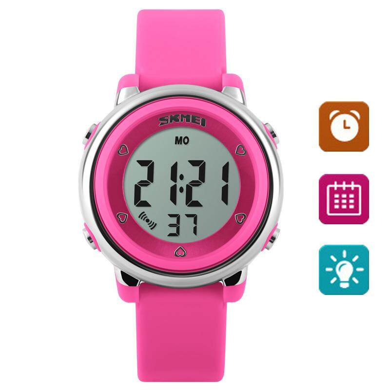 Brand Watch 1100 Children LED Digital Watch Relogio Feminino Sports Watches Kids Cartoon Jelly Relojes Mujer Waterproof Wristwatches Malaysia