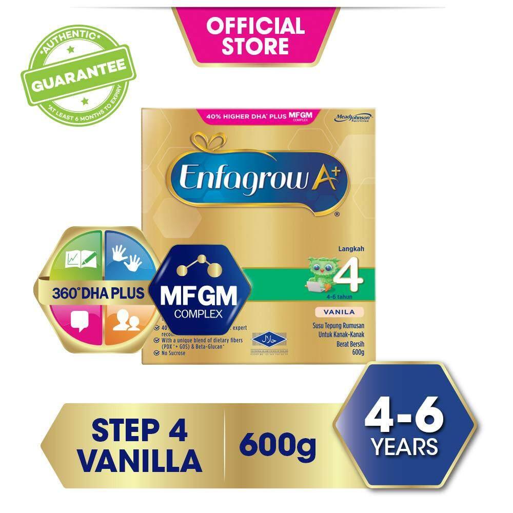 Enfagrow A+ Step 4 Vanilla - 600g By Lazada Retail Mead Johnson.