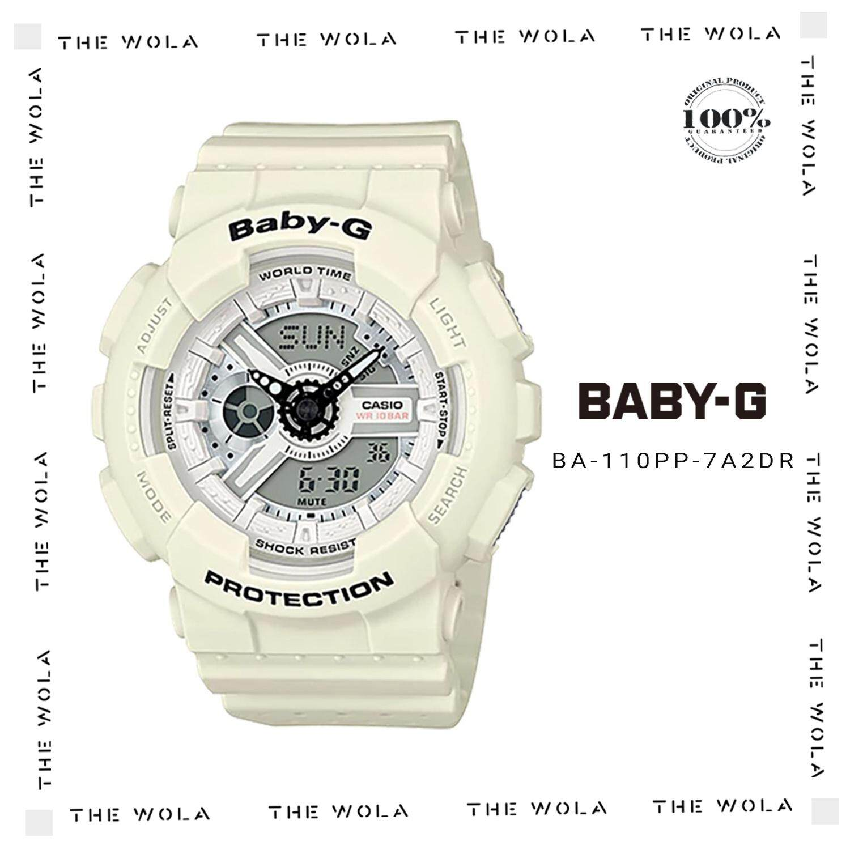 Casio Baby G Watch Ba 110pp 7a2dr Bgs 180 3b Jam Tangan Wanita Putih