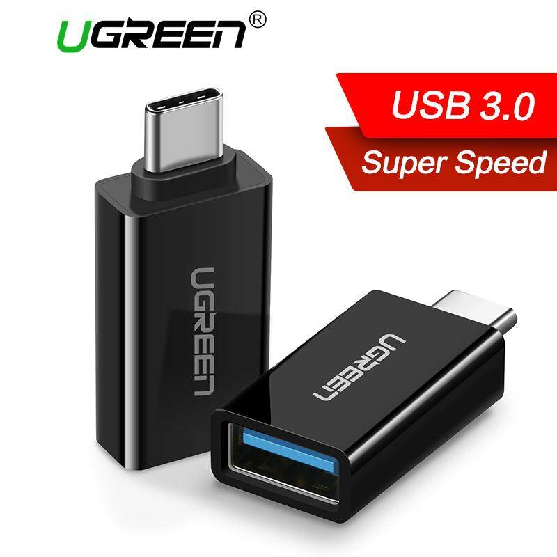 Ugreen Type C Adapter Type-C To Usb 3.0 Otg Cable Adapter Type C Converter For Xiaomi 5 6 Samsung S8 Note 8 Huawei Mate9 Mate10 P9 P20 Oneplus 5 Usb C Otg Adapter(black) - Intl (my) By Ugreen Flagship Store.