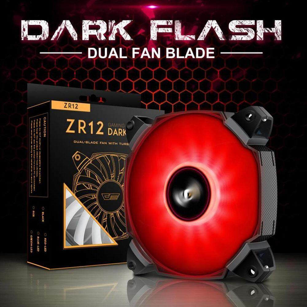 Aigo Fans Heatsinks Price In Malaysia Best Fan Casing Eclipse 12cm Dark Flash Dual Blade Pwm Case Red