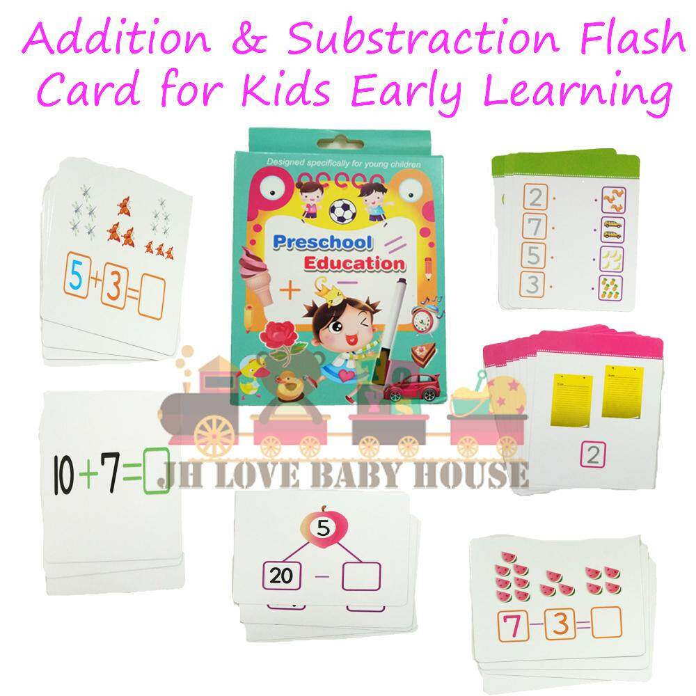 Office & School Supplies Chinese Digital Number Round Flash Card Children Baby Math Mathematical Enlightenment Cards For Kids Age 3 Months To 3 Years
